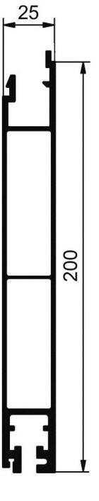cennik - profile dolne 200 mm