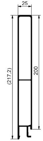 cennik - profile górne 200mm