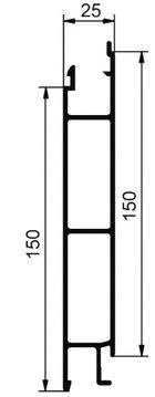 cennik - profile środkowe 150 mm