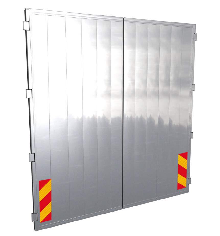 Chwalebne Drzwi tylne do kontenera lub naczepy typu firanka UT11
